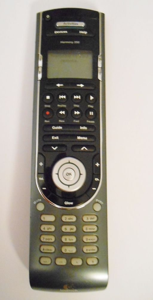 Logitech Harmony 550 remote control - Universal Home multi system device brand