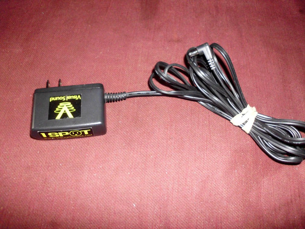 9v 9 volt Visual Sound NW1 US 1 SPOT Guitar Effects Pedal power supply plug wire