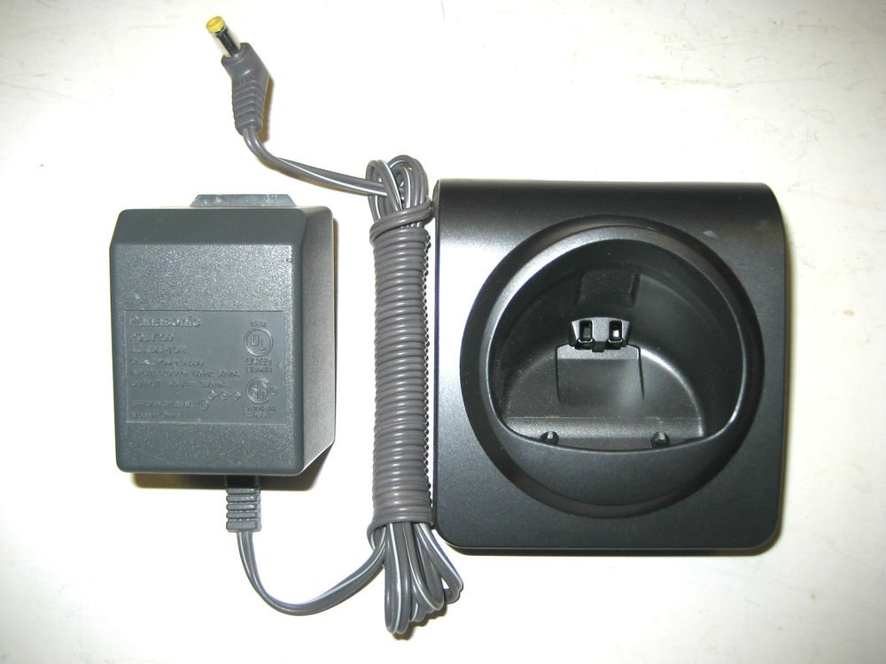 Panasonic PQLV30053ZAB remote handset base w/PSU for cordless phone KX TGA101B