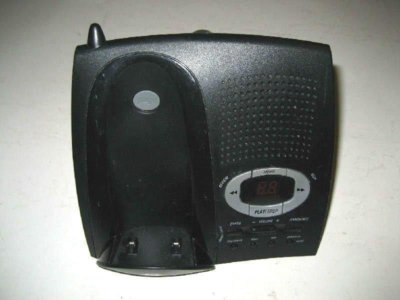 GE main charger base 27851fe1-B - tele phone digital cordless handset G.E. ac dc