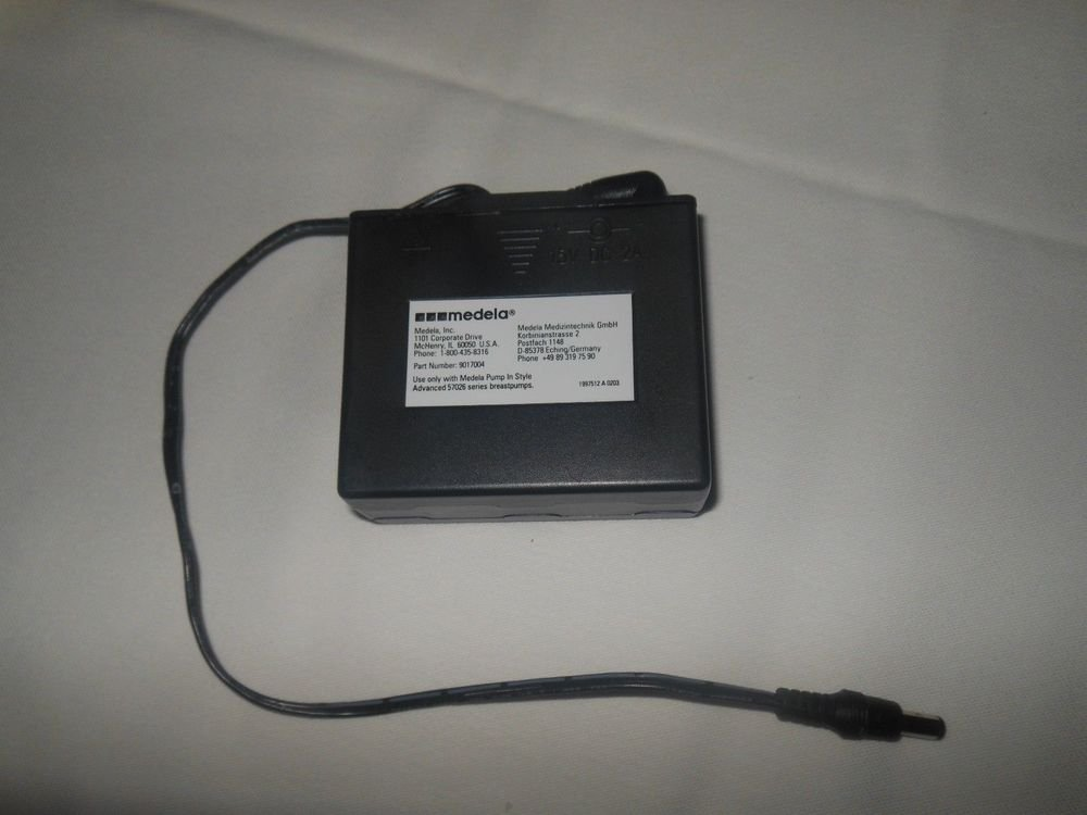 MEDELA Battery Pack 15V DC 2 A part 901 7006 Pump In Style Advanced power supply