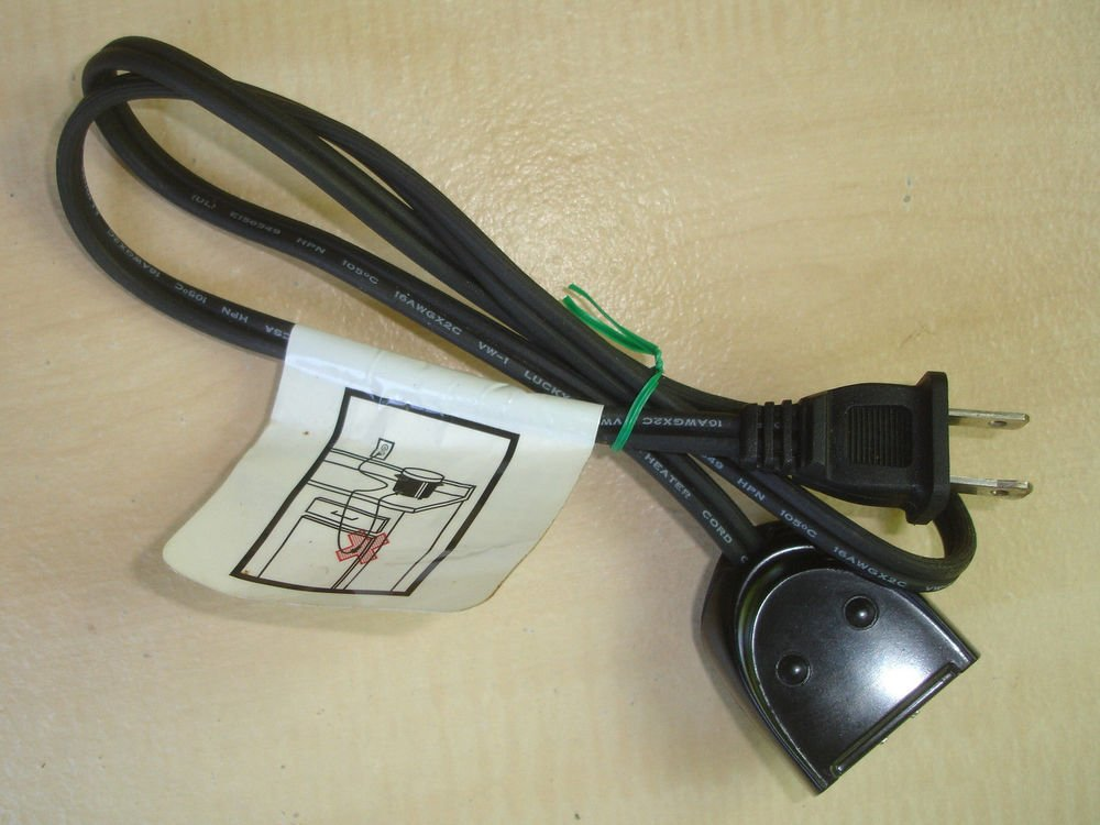 Presto Electric Skillet / Deep Fryer Magnetic Power Cord model 0692505 plug ac