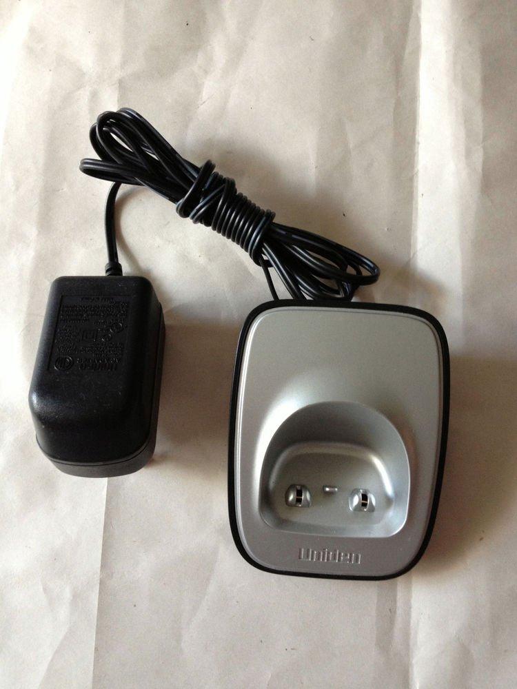 Uniden DCX16 s charger base w/PS - D1660 D1680 D1688 D1760 D1780 cradle stand ac
