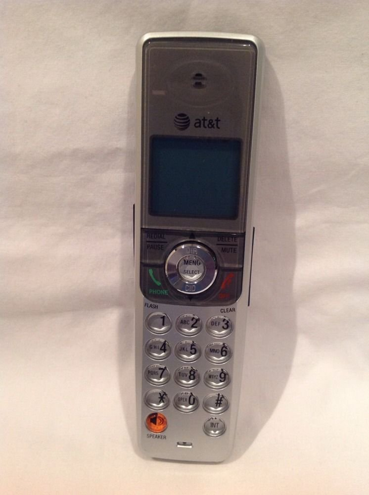 AT T model SL82558 cordless HANDSET - tele phone remote speaker wireless DECT6.0