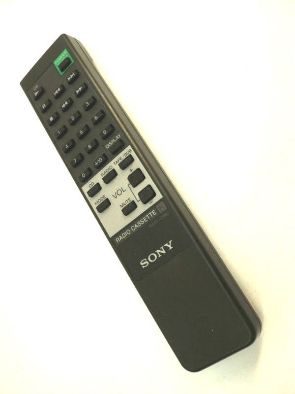 SONY RMT C560 REMOTE CONTROL - Radio Cassette CD TAPE CFD 560 560L DW 560 560S