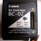 Canon BC 02 BLACK ink printer BJ 100 200 210 230 ex multipass 1000 fax B340 B360