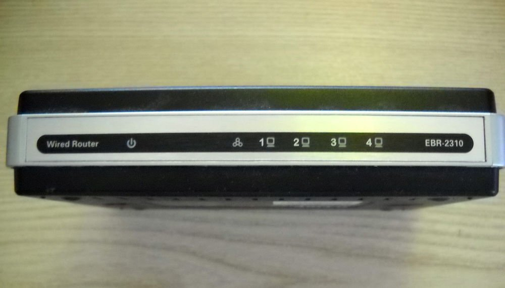 D LINK EBR 2310 ROUTER - 4 PORT WIRED ETHERNET BROADBAND ebr2310 dlink internet