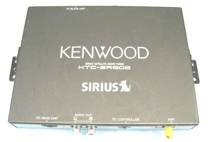 KENWOOD KTC SR902 SIRIUS radio receiver tuner conductor satellite sirus am fm