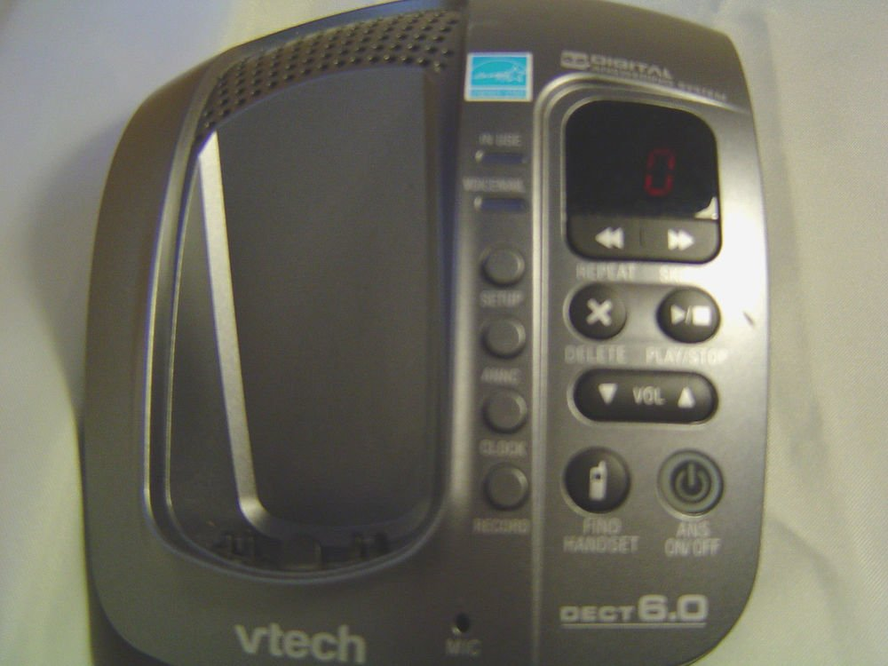 Vtech CS6129 41 main base wPSU - DECT 6.0 CORDLESS tele PHONE v tech charging ac