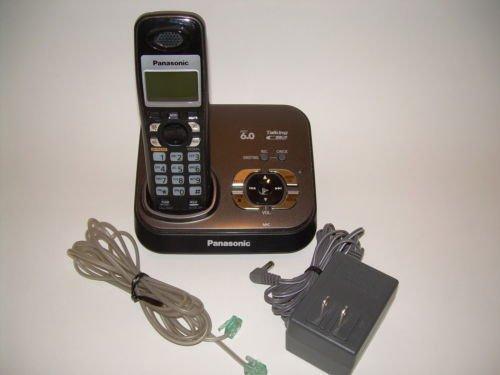 PANASONIC KX TG9331T caller ID 6.0 DIGITAL LCD CORDLESS PHONE w/ answer machine