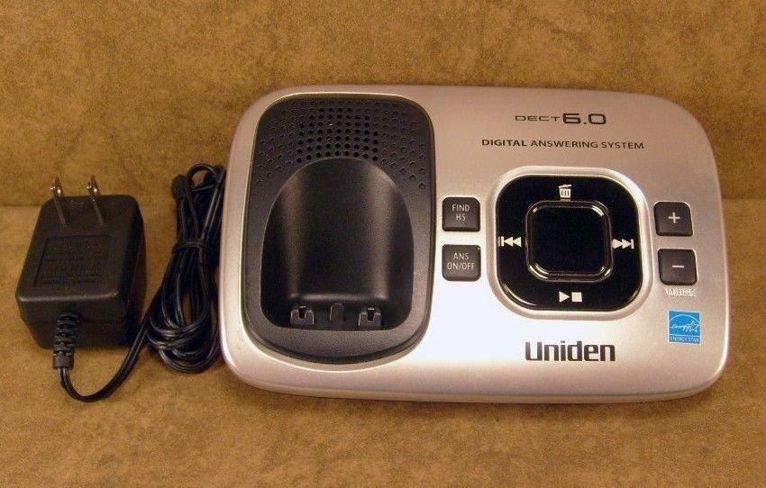 Uniden D1780 3 DECT 6.0 main charger base w/PSU cradle cordless phone charging