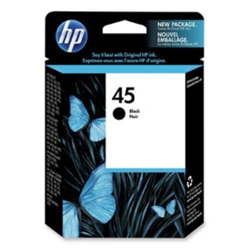 45 BLACK ink jet HP DeskJet 995 990 970 960 952 950 9300 6127 6122 1600 printer