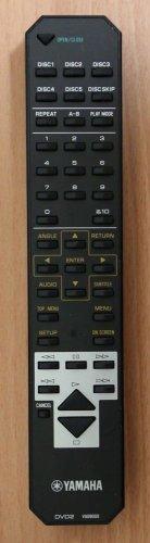 YAMAHA DVD2 V609000 Remote Control disc player DV C6280 DVD C996 GL VD 2299