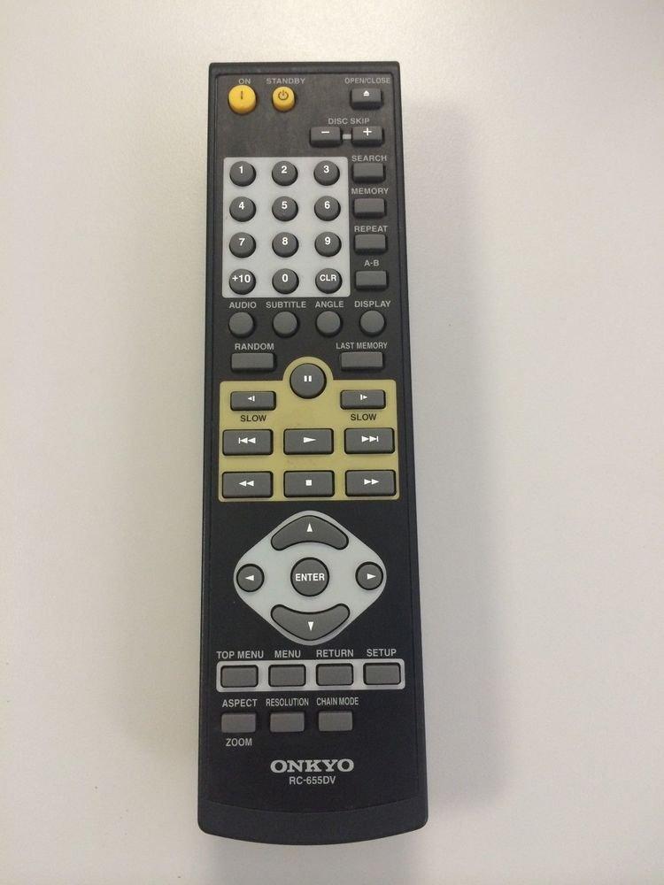 ONKYO DVD disc REMOTE CONTROL RC 655DV DV CP704 DV CP704S DV CP706 HT CP807 S907