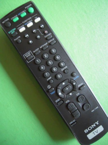 SONY RM Y168 REMOTE CONTROL = KV 32FS10 KV 36FS10 KV 36FS12 27FS16 27FS10 20FV10