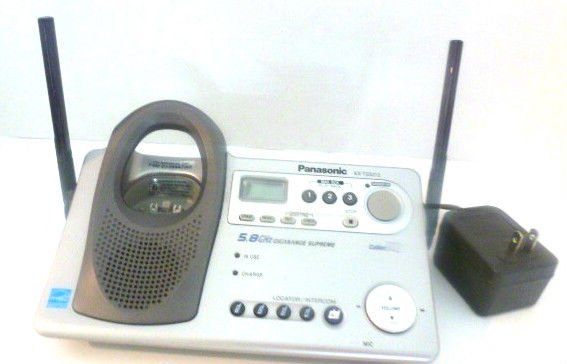 KX TG5212 PANASONIC phone charger base unit = cordless TGA523M handset telephone