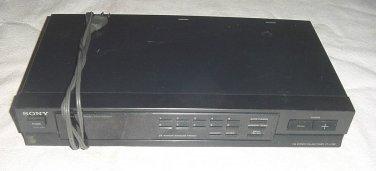 SONY ST JX380 FM AM STEREO TUNER quartz DIGITAL SYNTHESIZER 25 Station Memory