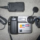 "Sony MVC FD81 floppy disk 3.5"" Digital Mavica Camera w/EXTRAS"