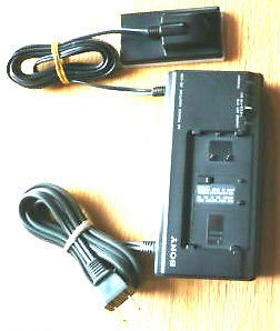 Sony AC V60 handycam camcorder power supply unit adapter battery charger PSU dc