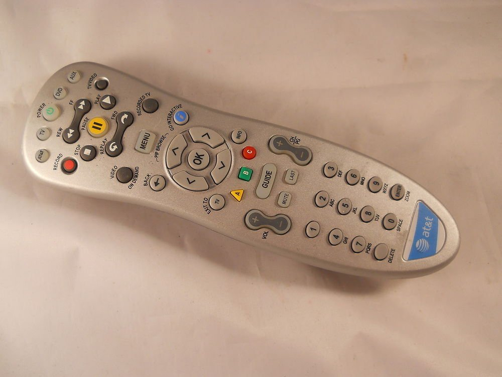 REMOTE CONTROL - AT T Cisco Scientific Atlanta cable receiver IPN4320 HD VIP 120