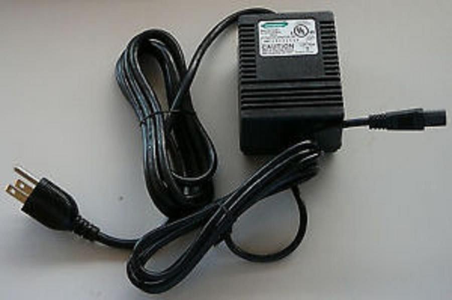 24v 24 volt HYPERCOM power supply - credit card machine cable unit ac plug box