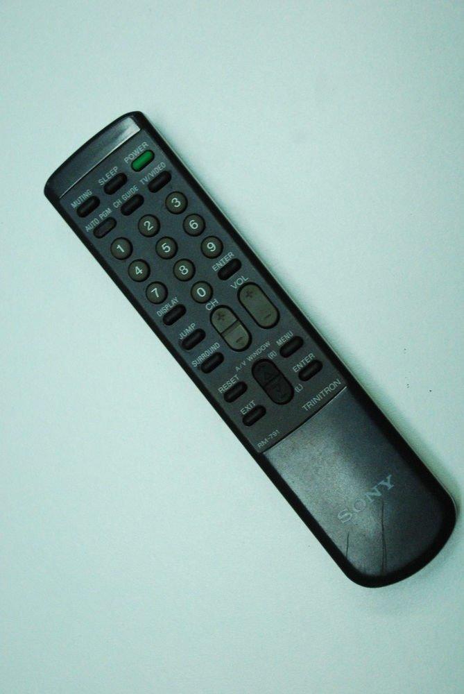 Sony RM 791 Remote Control KV 27TW75 27TW26 27TS2727 32TS20 32TS35 32TW75 32TW76