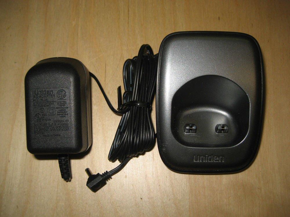 Uniden DCX14 b remote charger base w/PSU - Dect 1480 Dect 1580 phone