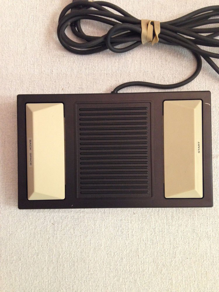 Panasonic model RP 2692 Foot Pedal controller = office transcriber RR 930 RR 830
