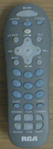 REMOTE CONTROL - RCA RCR312W Universal TV VCR SAT Cable wireless controller