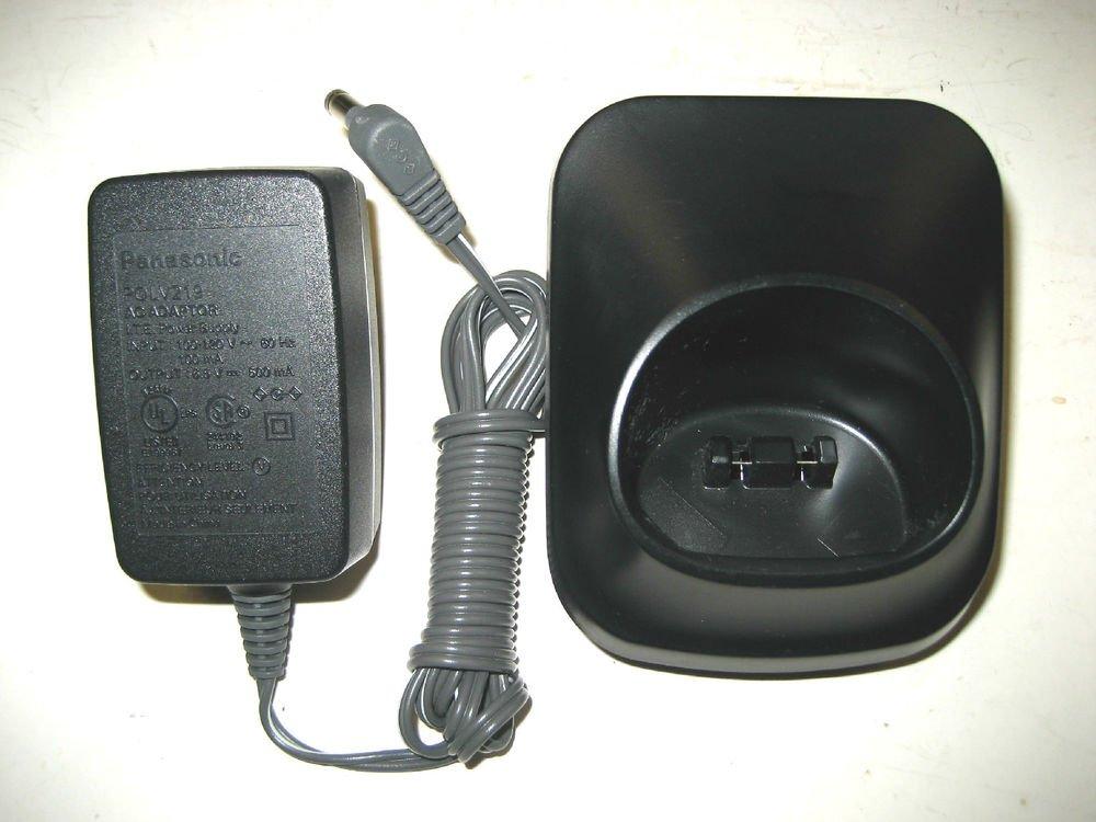 PNLC1010 YA blk PANASONIC remote base w/P = TGA652 KX TGA402 TG4021 phone cradle