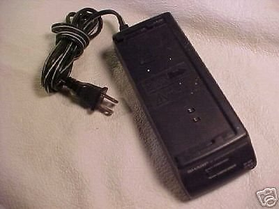 Sharp BATTERY CHARGER= UADP 0182GEZZ camera model VHS video ac adapter camcorder