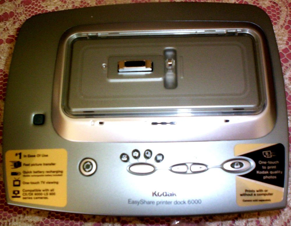 Kodak EasyShare 6000 printer dock photo camera WITH ac POWER SUPPLY ADAPTER CORD