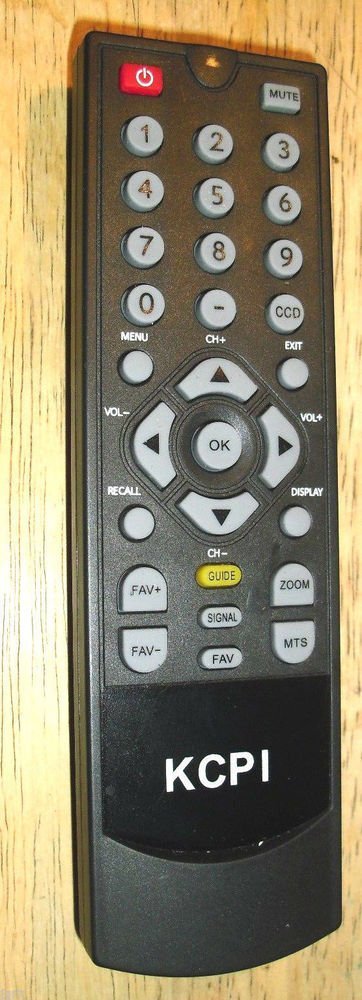 KCPI original REMOTE CONTROL - DT 504 DTV Digital TV Converter box Tuner cable