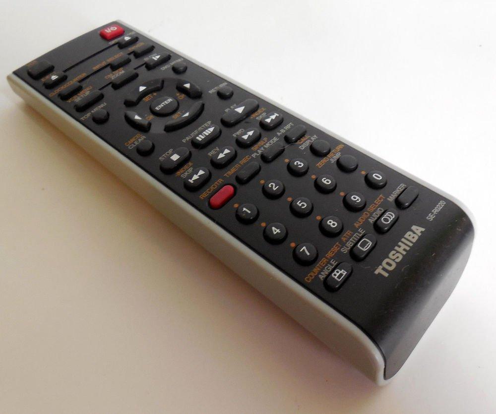 TOSHIBA SE R0220 Remote Control SD KV550 SU SD V393 SD V394 SD V395 SD V330 VCR