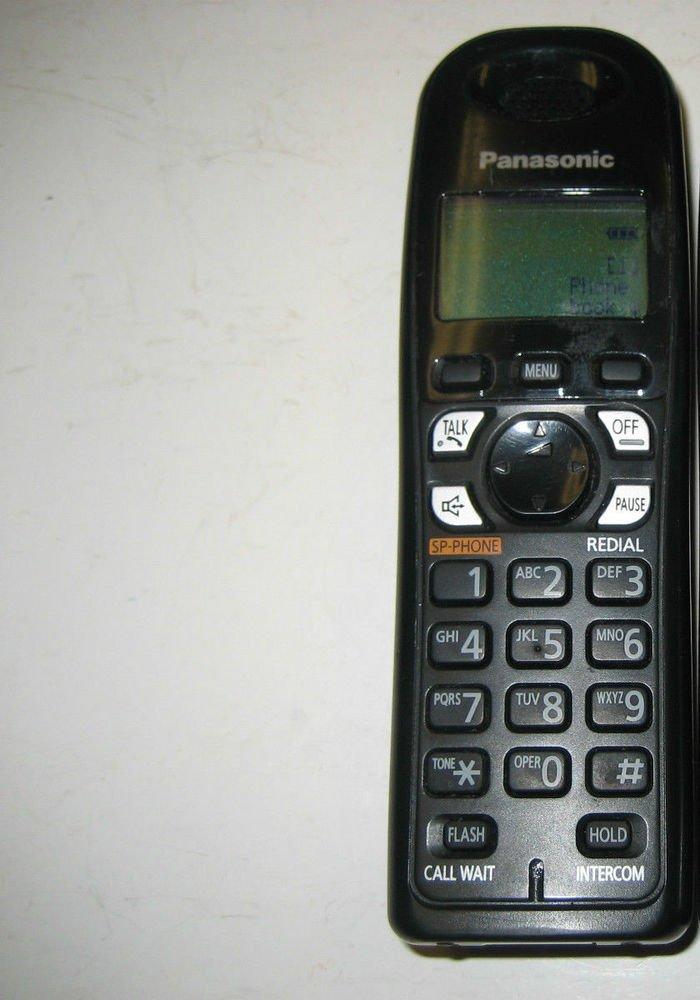 Panasonic TGA430B HANDSET - cordless home phone ac wireless remote expandable