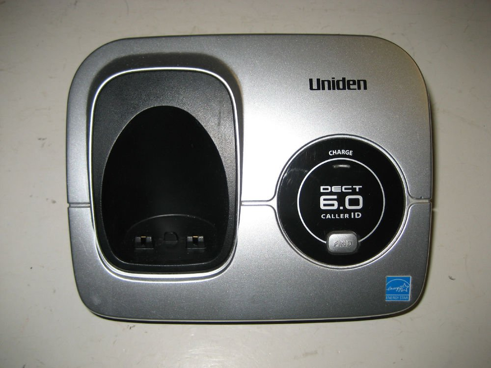 Uniden Dect 1560 main charger base - 6.0 GHz cordless phone wireless remote