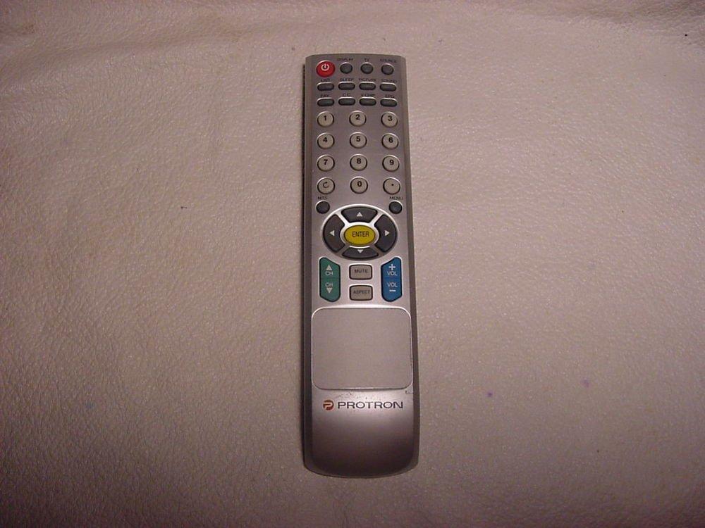 PROTRON TV REMOTE CONTROL V.CHIP EPG television controller commander wireless