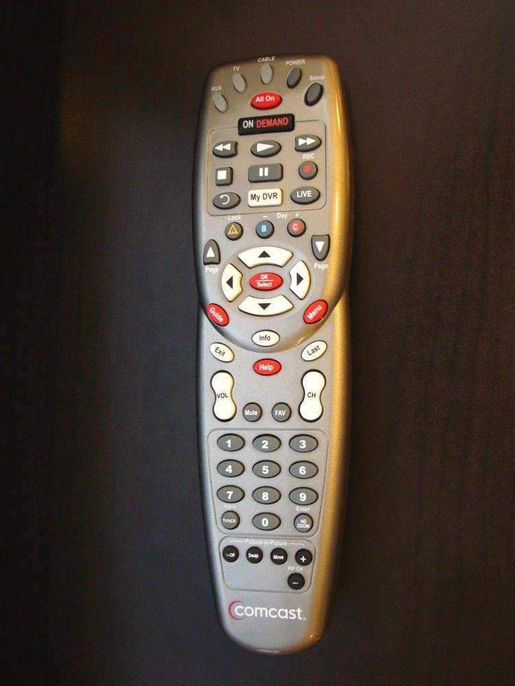 original platinum Comcast remote control ON DEMAND DVR HDTV cable box satellite
