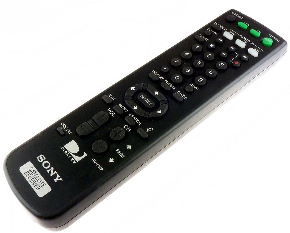 SONY RM Y812 REMOTE CONTROL = SAT A65 A65A B65A  controller satellite receiver