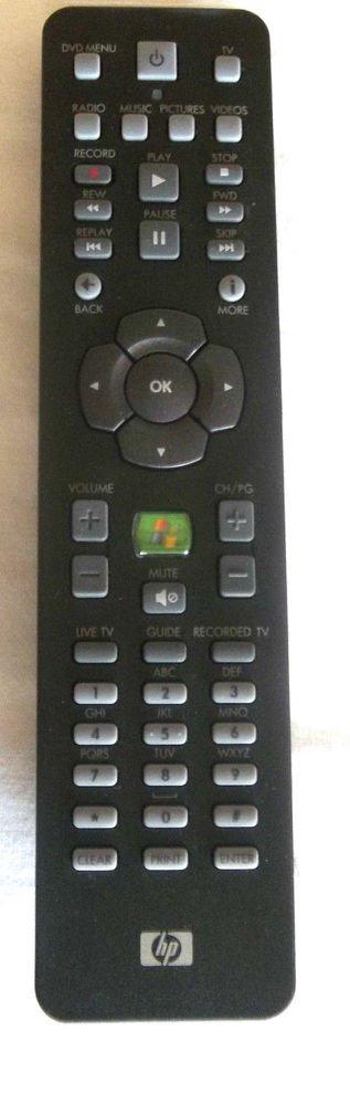 HP 5069 8344 REMOTE CONTROL RC1314609 media center windows controller infrared