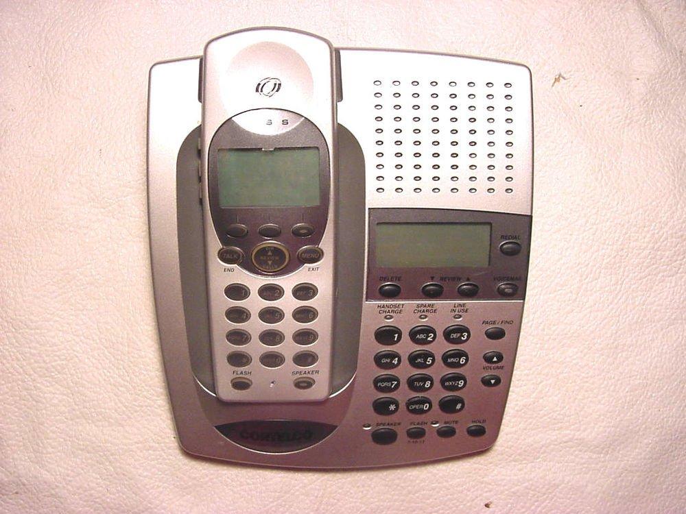 CIDCO CORTELCO E2400 speaker phone handset voicemail cordless DSL DSS LCD screen