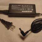 19v 3.16A battery charger = Compaq Inspiron ACER TravelMate Gateway Solo plug ac