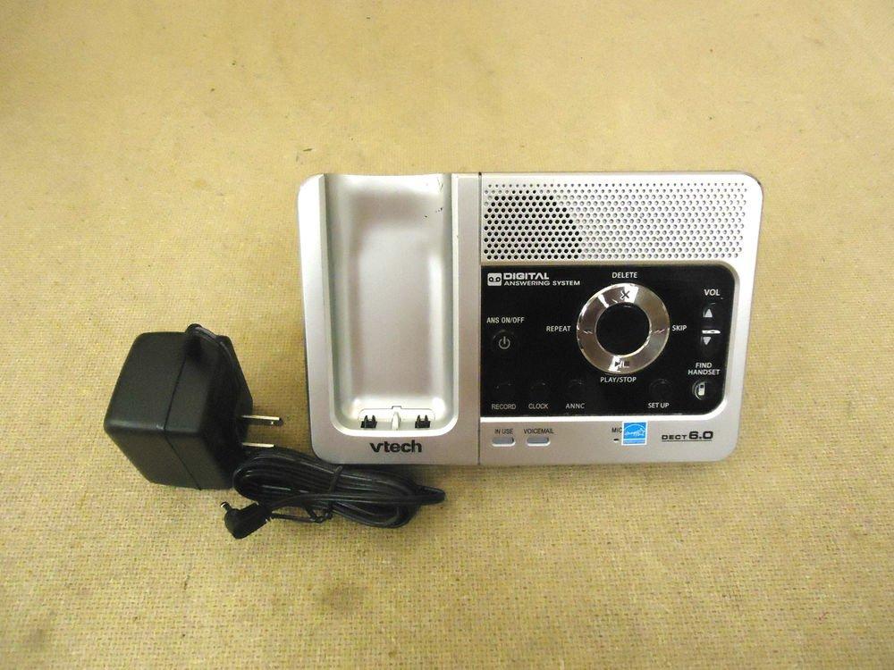 Vtech LS6125 main charge base w/PSU - CORDLESS PHONE v tech charging electric ac