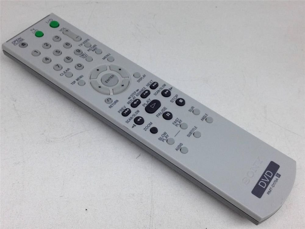 SONY RMT Y175A REMOTE CONTROL DVD player DVP NS70H DVP NS41P DVP NS50P DVP NS55P