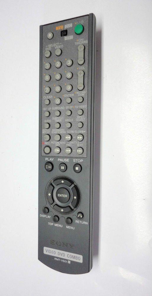 SONY RMT V501 R  REMOTE CONTROL DVD TV VIDEO combo SLVD 100 251P 3009 350P 550P