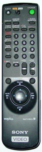 SONY RMT V202A R  REMOTE CONTROL VTR SLV 695HF 775HFPX 776HF VCR Plus 147502721