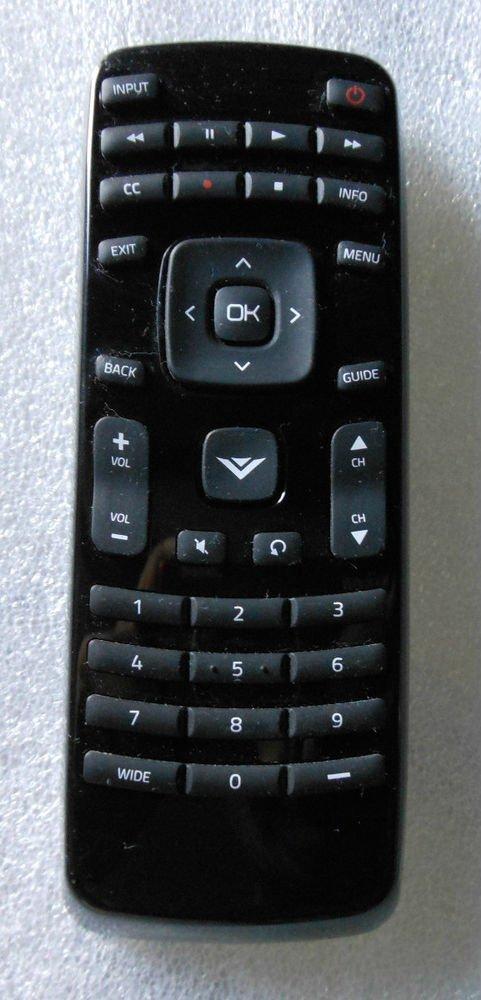 VIZIO REMOTE CONTROL = E240AR E221VA E321VL XRT010 E261VA E191VA E321VT E321VA