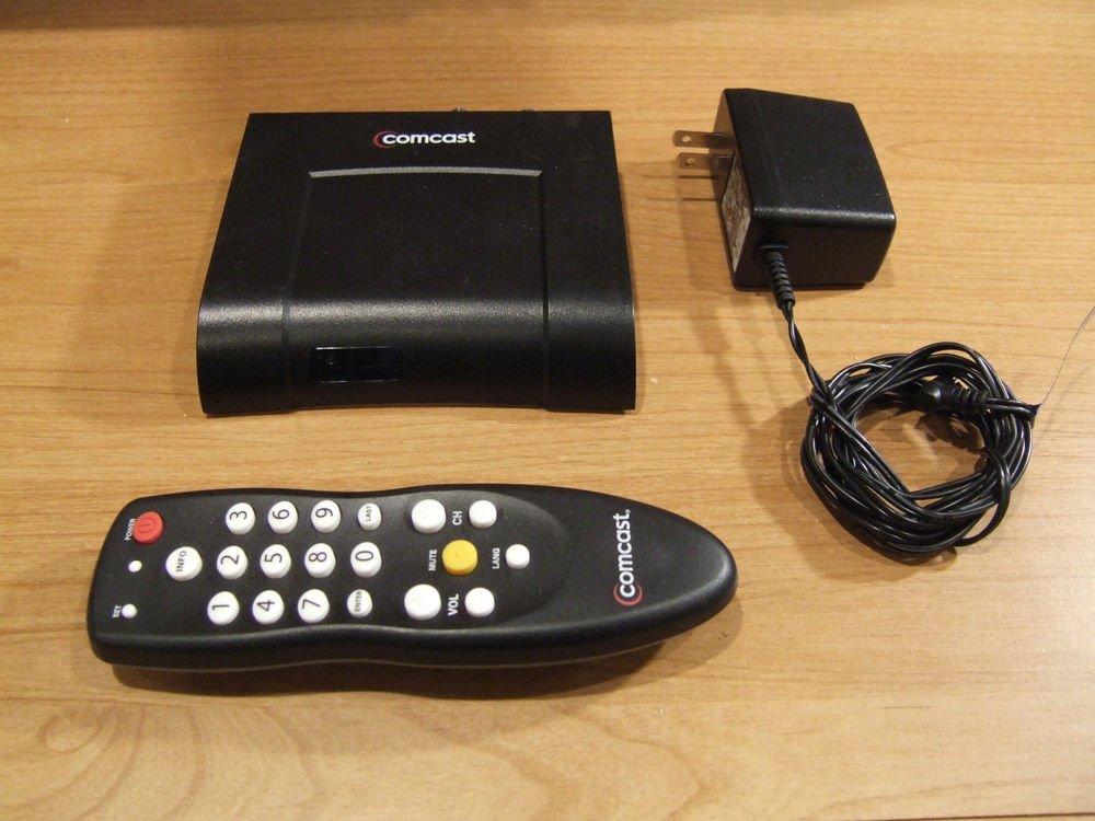 Comcast DC50X Receiver TV cable box digital transport adapter DTA television MAC