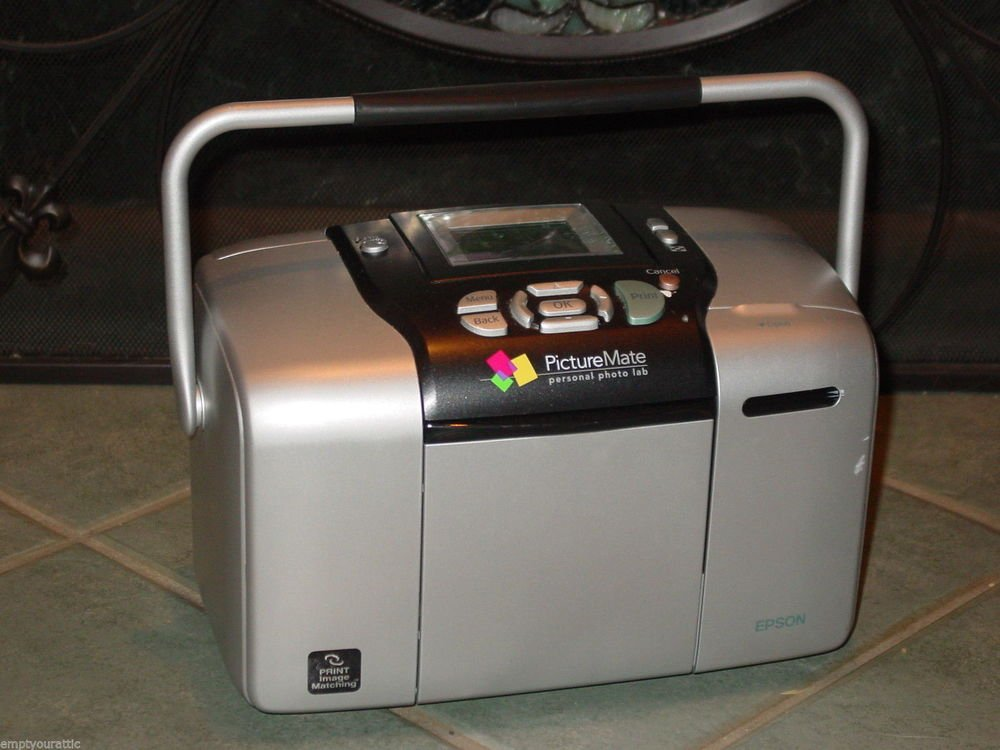 EPSON Picture Mate 500 deluxe B351A printer digital photo lab portable deluxe