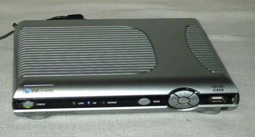 Scientific Atlanta IPN330HD AT T U verse HDMI USB Cisco cable box internet att